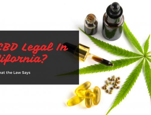 Is CBD Legal In California? Here's What the Law Says