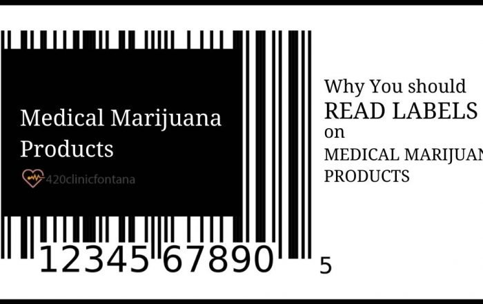 Reasons Why Reading Labels on Cannabis Products is Important